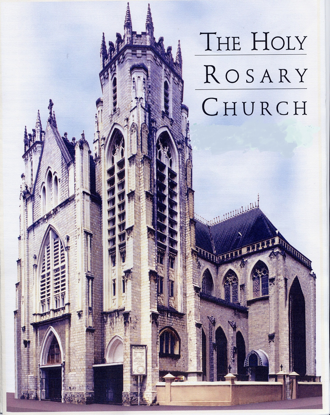 Holy Rosary Restoration Project